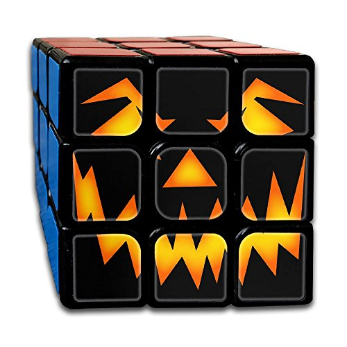 Scary Halloween Face Rubik's Cube 3D Printed 3x3 Magic Square 2.1