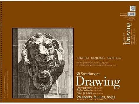 "drawing paper roll large size sheet 32/"" 42/"" Strathmore 400 sketching 163gsm"
