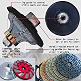 "Diamond 1 1/4"" Ogee Bullnose F30 Router Bit for stone concrete 4"" Granite Polishing Pad Grinding cup wheel 12+2 marble quartz countertop shaping grinder polisher sander cutter -  Polishing Abrasive Tools Mart"