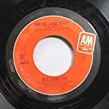 NAZARETH 45 RPM TAKE THE RAP / LOVE LEADS TO MADNESS