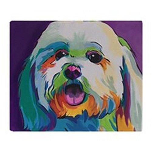 CafePress - Dash The Pop Art Dog - Soft Fleece Throw Blanket, 50