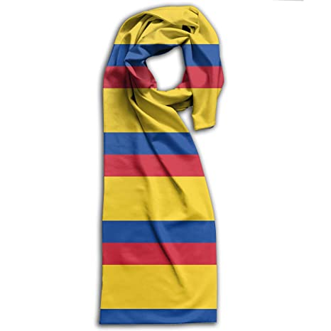 Amazon.com: GQOP Unisex Scarf Flag of Colombia Lightweight ...