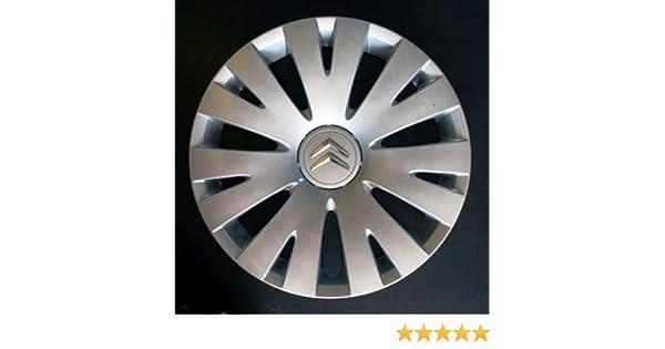 Wheeltrims Set de 4 embellecedores Citroen C4 Picasso / C1 / C2 / C4 / C5 / C8 / Nemo/Berlingo / Xsara Picasso con Llantas Originales de 15: Amazon.es: ...