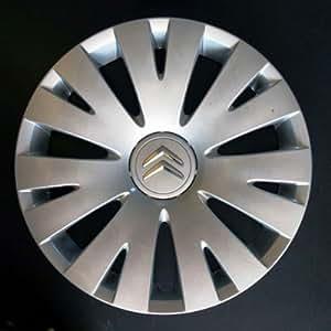Wheeltrims Set de 4 embellecedores Citroen C4 Picasso / C1 / C2 / C4 / C5 / C8 / Nemo/Berlingo / Xsara Picasso con Llantas Originales de 15''
