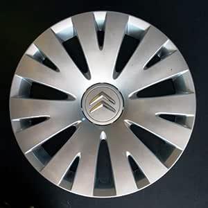 Wheeltrims Set de 4 embellecedores nuevos para Citroen C4 Picasso / C1 / C2 / C4 / C5 / C8 / Nemo/Berlingo/Xsara Picasso con Llantas Originales de ...