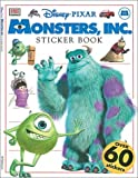 img - for Disney-Pixar Monsters, Inc. Sticker Book by Rebecca Knowles (2001-10-01) book / textbook / text book