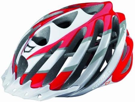 Catlike Vacuum - Casco para bicicleta rojo rot/weiß/silber Talla:S ...