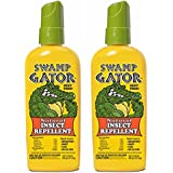 HARRIS FAMOUS ROACH TABLETS Swamp Gator Plant Based Mosquito Insect Repellent Deet Free Spray (2-Pack)