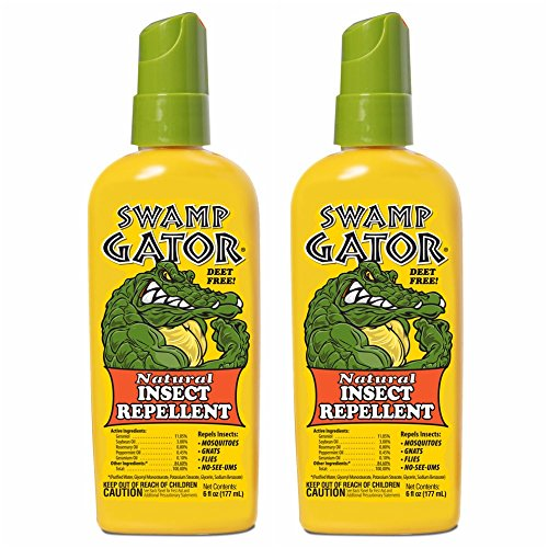 HARRIS FAMOUS ROACH TABLETS Swamp Gator Plant Based Mosquito Insect Repellent Deet Free Spray ()