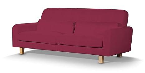 Dekoria Fire retarding IKEA Nikkala sofá Cover - Burgundy ...