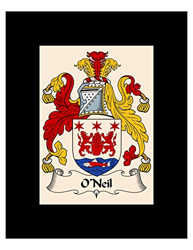 - Carpe Diem Designs O'Neil Coat of Arms/O'Neil Family Crest 8X10 Photo Plaque, Personalized Gift, Wedding Gift