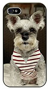 iPhone 6 Case Dog with shirt - black plastic case / dog, animals, dogs