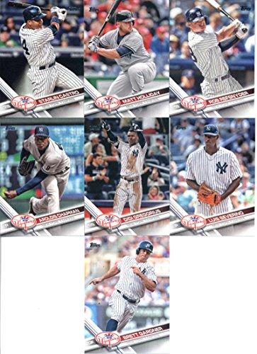- 2017 Topps Series 2 New York Yankees Team Set of 12 Cards: Chris Carter(#438), Brett Gardner(#457), CC Sabathia(#465), Michael Pineda(#474), Didi Gregorius(#482), Greg Bird(#485), Aroldis Chapman(#486), Luis Severino(#544), Starlin Castro(#556), Matt Holliday(#580), Chase Headley(#621), Rob Refsnyder(#692)