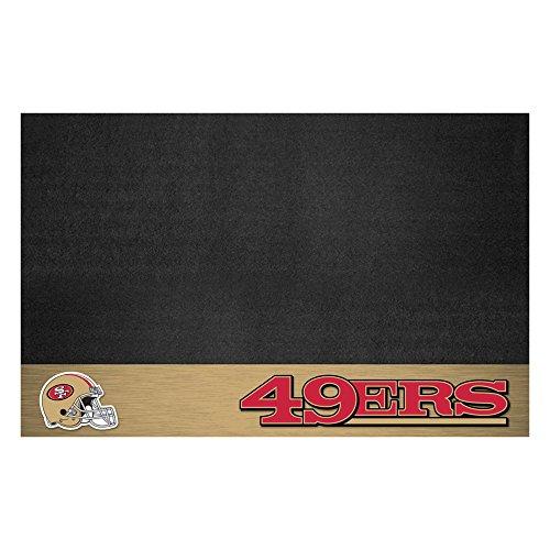 FANMATS NFL San Francisco 49ers Vinyl Grill Mat