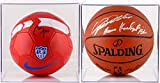 Basketball Display Collection - Fanatics Authentic Certified - NBA Basketball Display Cases No Logo