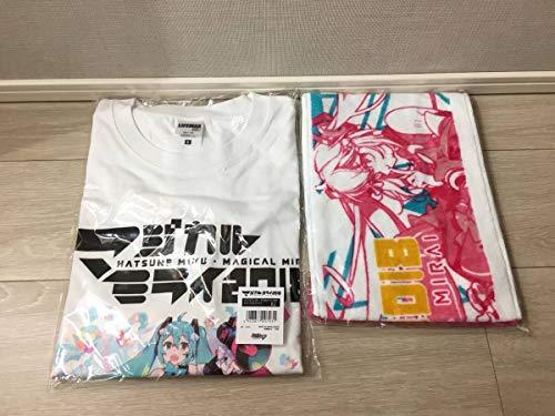 マジカルミライ 2018 オフィシャルTシャツ メインビジュアル ver.(Lサイズ)& マフラータオル セットの商品画像