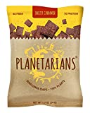 sweet spicy sunflower seeds - Planetarians Healthy Snacks Baked Chips – Vegan Protein Chips (7g) High Fiber Crisps (4g) Plant Based (130cal) Sweetly Cinnamon Chips Snack Pack, Sunflower Chips – 6 Bulk Individually Wrapped Snacks