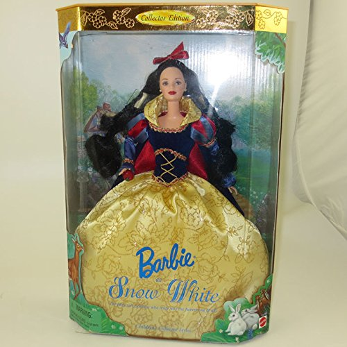 Barbie Collectibles Doll As Snow White