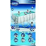 Piscina-Power-Steel-Frame-Rettangolare-Cm-412X201X122-Cap-8124-Lt-Filtro-A-Sabbia-220-240V-Include-Scaletta-Di-Sicurezza-Galleggiante-Chemconnect