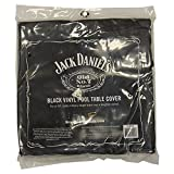 Jack Daniel Black Vinyl Air Hockey Table Cover