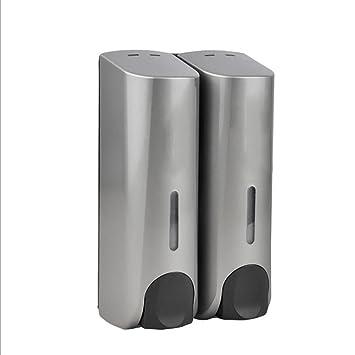 LL-Double soap machine wall - mounted dispenser kitchen toilet shampoo conditioning liquid liquid soap