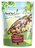 Food to Live Brazil Nuts (Raw, Unshelled, Kosher) — 4 Pounds For Sale