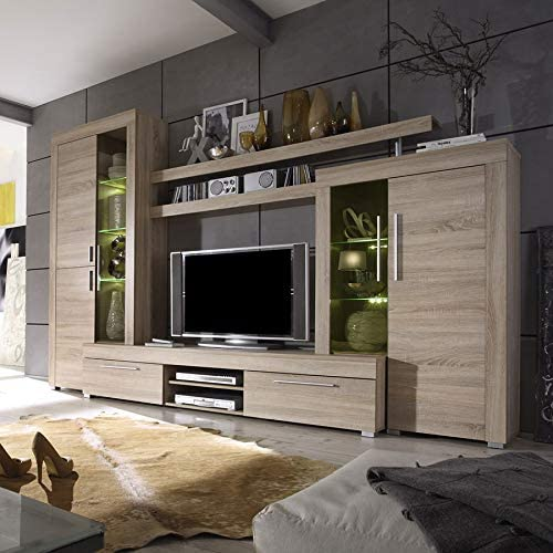 Kasalinea Octave - Juego de televisores con LED de Color Roble ...