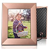 Nixplay Iris 8'' Wi-Fi Cloud Frame (W08E - Peach Copper)