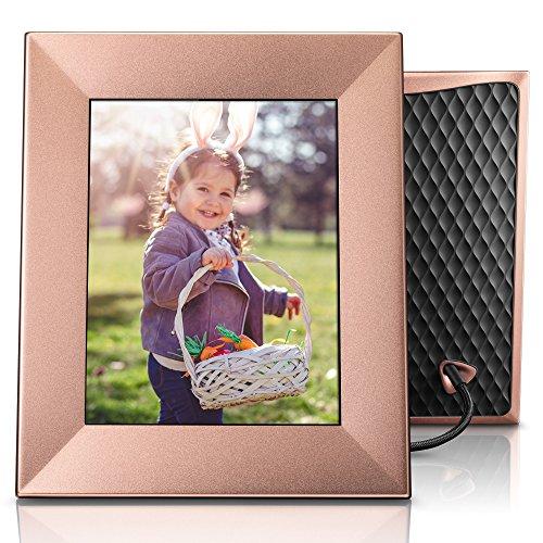 Nixplay Iris 8″ Wi-Fi Cloud Frame (W08E – Peach Copper)