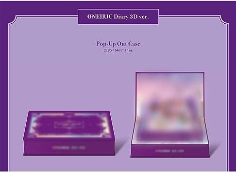 . iZONE IZ*ONE 3er Mini /Álbum Oneiric Diario Versi/ón 3D incluye Beneficio de prepedido: p/óster, juego de tarjetas de fotos acr/ílicas al azar