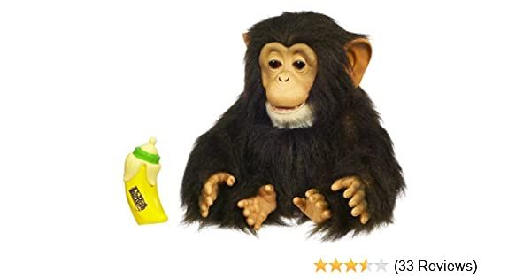 Amazon Furreal Friends Cuddle Chimp Toys Games