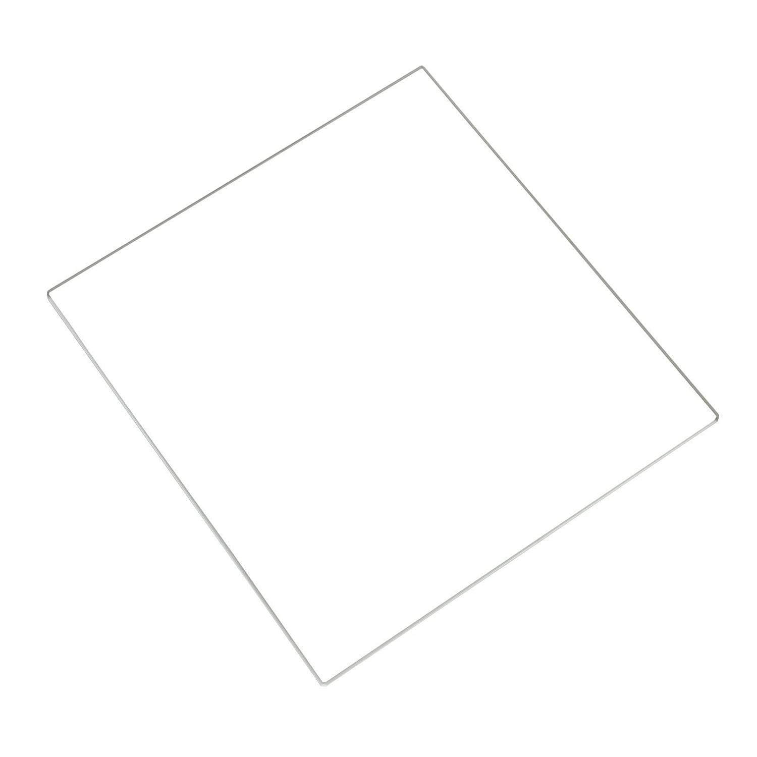 3D Printer Borosilicate Glass Build Plate for Heated Bed RepRap/CTC / ANET (220x200x3mm) BALITENSEN borosilicate glass 3d printer