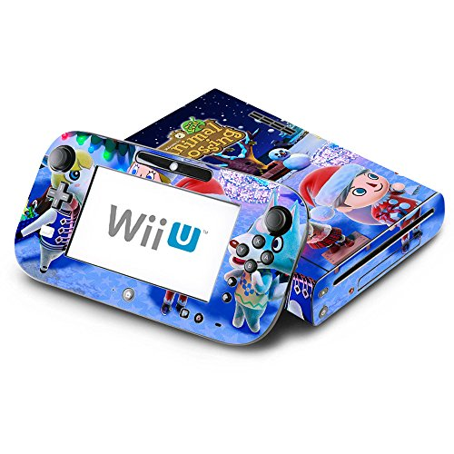 Animal Crossing New Leaf Winter Season Decorative Decal Cover Skin for Nintendo Wii U Console and GamePad