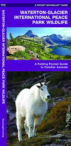 Waterton-Glacier International Peace Park Wildlife: A Folding Pocket Guide to Familiar Animals (Wildlife and Nature -