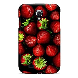 New Diy Design Strawberries For Galaxy S4 Cases Comfortable For Lovers And Friends For Christmas Gifts