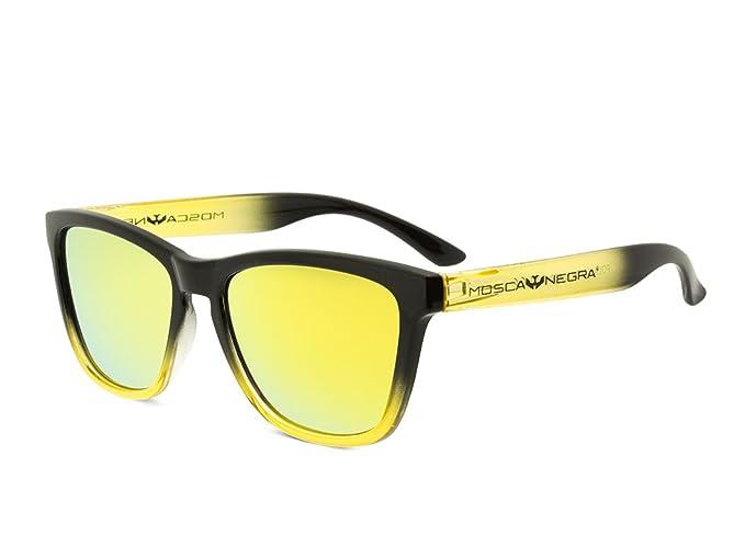 Gafas de sol MOSCA NEGRA modelo ALPHA SUNSET Yellow - Polarizadas