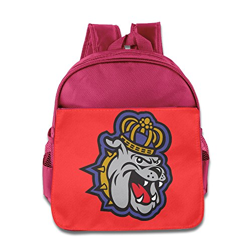 James Madison Dukes Logo Children School Pink Backpack (Stanton Laptop Bag)