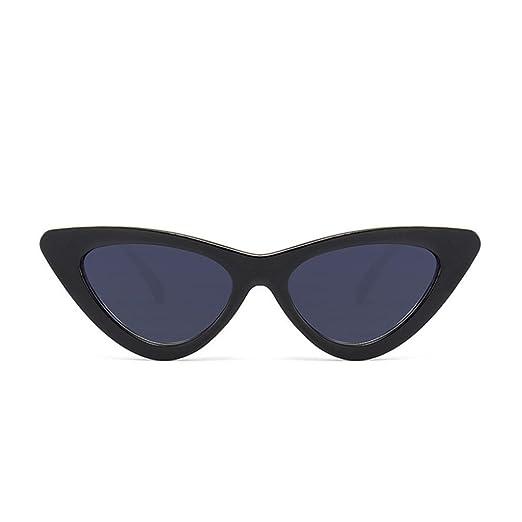 Gafas de sol de las sombras de ojo de gato de las mujeres de la manera Vidrios coloreados dulces del caramelo de la UV/Clásico Espejo Lentes Brillo UV ...