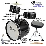 Blue-Drum-Set-Complete-Junior-Kids-Childrens-Size-with-Cymbal-Stool-Sticks-Everything-You-Need-to-Start-Playing