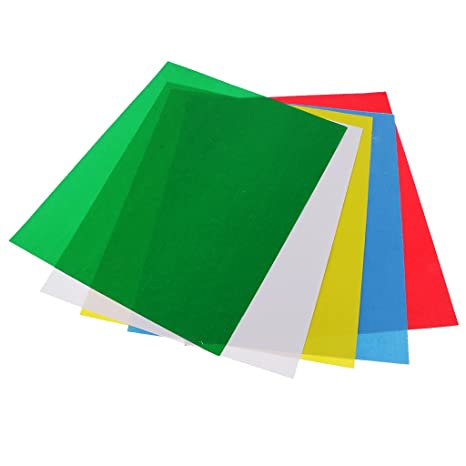 Magideal 5 Pieces Tailor Tracing Paper Sheets For Temporary Marking