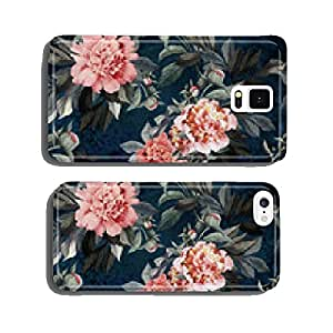 Seamless floral pattern with red and pink roses and peonies cell phone cover case iPhone6 Plus