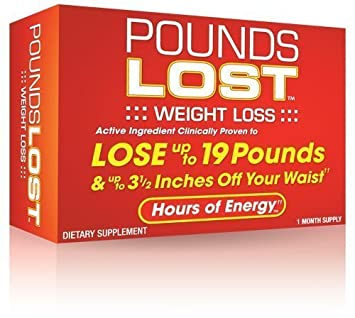Pounds Lost, 1 Month Supply