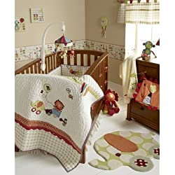 Mamas & Papas Jamboree Baby Bedding Set (4-piece) Boy or girl - unisex