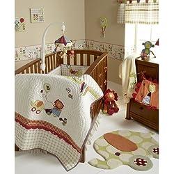 Mamas & Papas Jamboree Baby Bedding Set (4-piece) Boy or girl - unisex