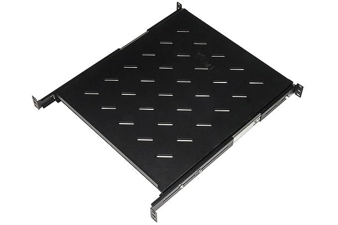 Link Accessori LKRIP550EN Rack Shelf Accesorio de Bastidor - Accesorio de Rack (Rack Shelf, Negro, Acero, 40 kg, 48,3 cm (19