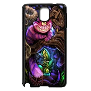 BESTER XUJIECHEN Phone case Style-15 -We All Mad Here - Cheshire Cat Protective Case For Samsung Galaxy NOTE4 Case Cover
