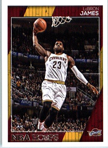 2016-17 Panini NBA Hoops #17 LeBron James Cleveland Cavaliers Basketball Card (2016 17 Panini Nba Hoops Basketball Cards)