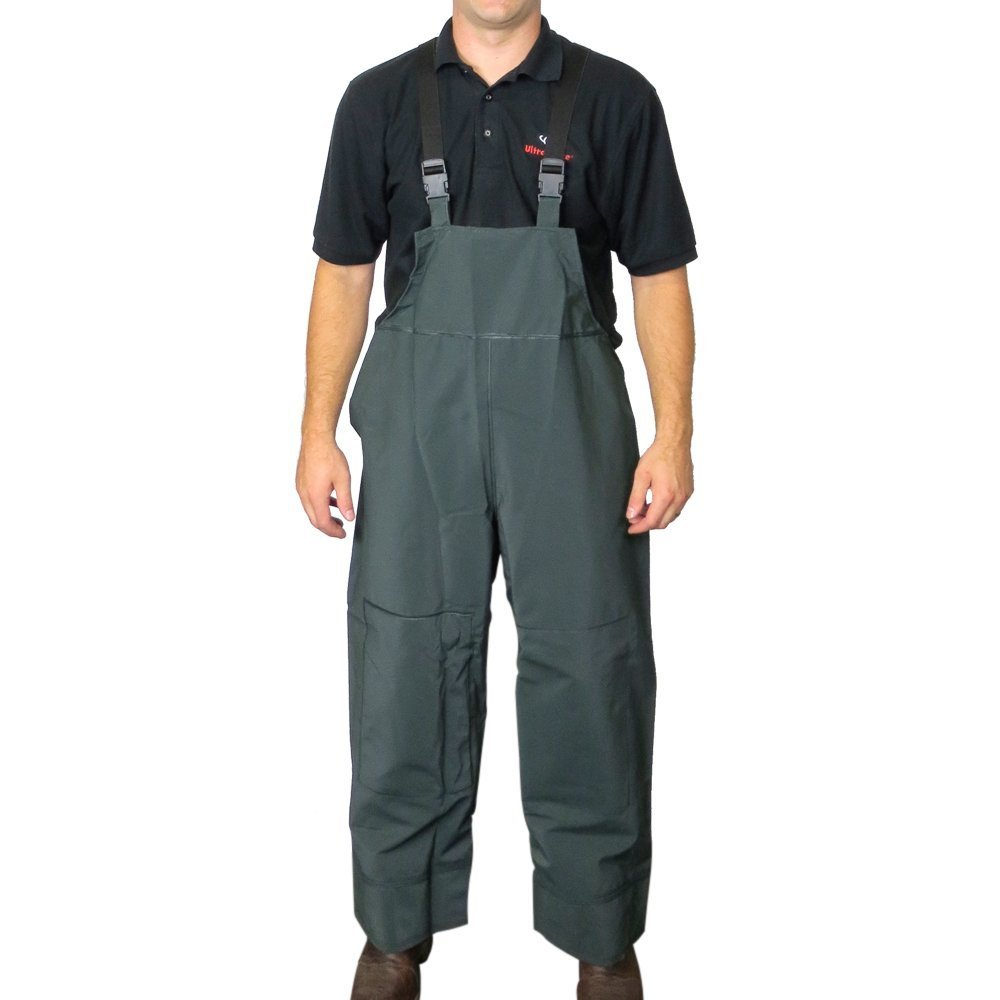 UltraSource PVC Rain and Fishing Overalls, Size 2X-Large 442014-2XL