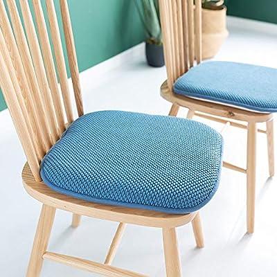QHQH Almohadillas para Silla, Cojines para sillones Muebles de jardín Muebles Decoración Hogar Oficina Coche Comedor Sofá Interior Exterior Cojín Suave para Asiento, Colores múltiples: Amazon.es: Hogar