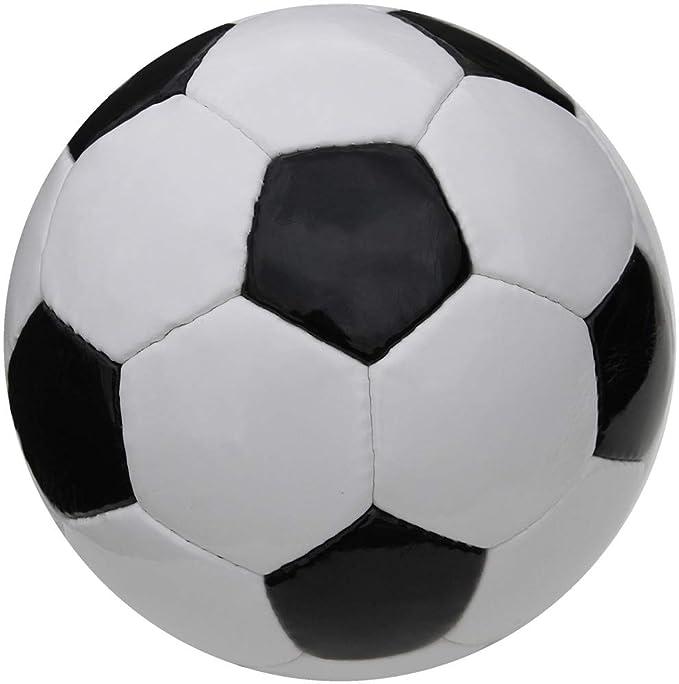 Boje Sport® Fútbol clásico - Cosido a Mano - Blanco/Negro - Talla ...